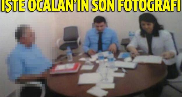 İşte Abdullah Öcalan'ın İmralı'daki son fotoğrafı!