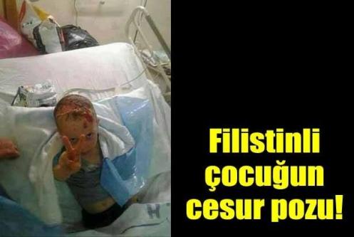 İşte çok konuşulan Gazzeli çocuğun fotoğrafı