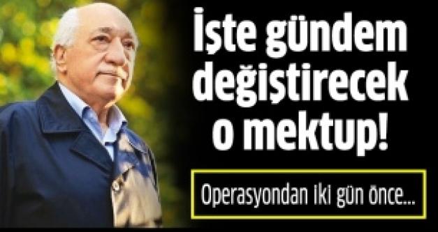 İşte Fethullah Gülen'in Cumhurbaşkanı Gül'e gönderdiği o mektubun tamamı