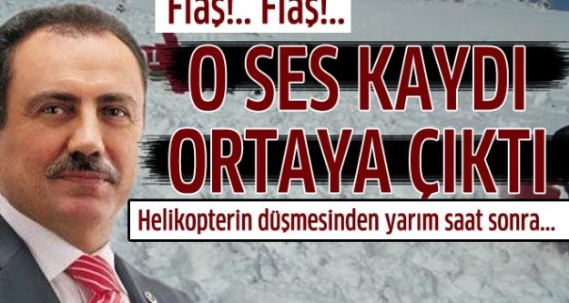 İşte Muhsin Yazıcıoğlu'nun öldüğü kazada İsmail Güneş'in 155 Polis İmdat ile yaptığı görüşme...