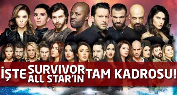 İşte Survivor All Star'ın tam kadrosu!