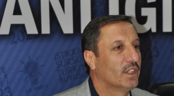İstifa Eden İl Başkanından Atalay'a: Hakkımı Helal Etmiyorum