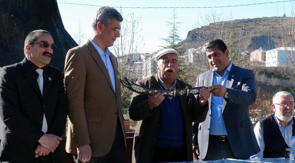 İstifa Eden Tunceli Emniyet Müdürü Yılmaz'a Alevi Uğurlaması