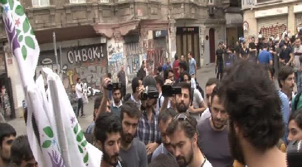 İstiklal Caddesi'nde Gerginlik: 3 Gözaltı