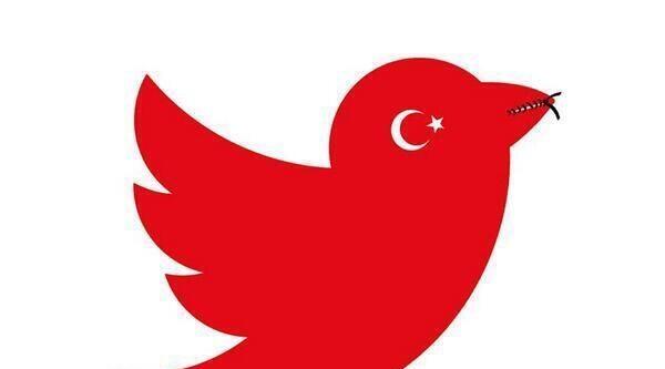 İsviçre Devlet Televizyonu Türkiye'deki Twitter Yasağını Karkatürler Eşliğinde Birinci Haber Olarak Verdi