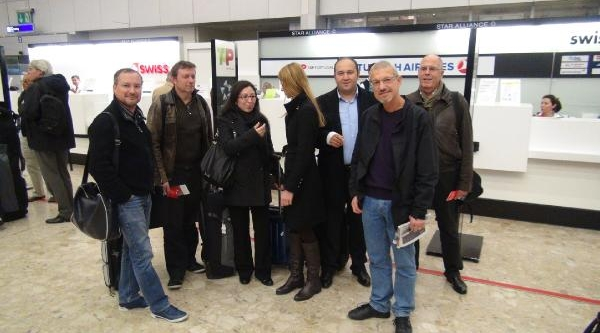 Isviçreli Gazetecilere Istanbul Turu