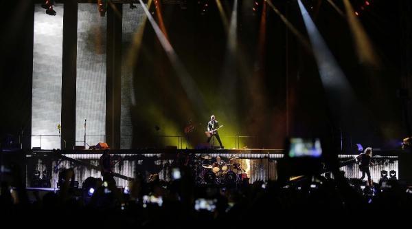 İtü Stadyumu'nda Metallıca Konseriyle Coştular