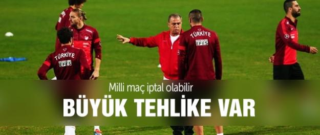 İzlanda Türkiye maçı iptal olabilir
