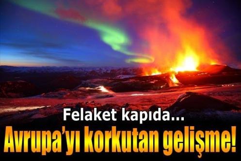 İzlanda'da binlerce küçük deprem meydana geldi