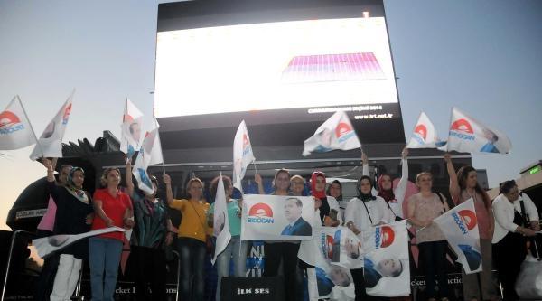 İzmir Ak Parti'de Oy Oranları Düştü (ek Fotoğraflar)