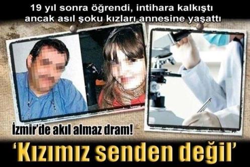 İzmir' de Akıl Almaz Dram