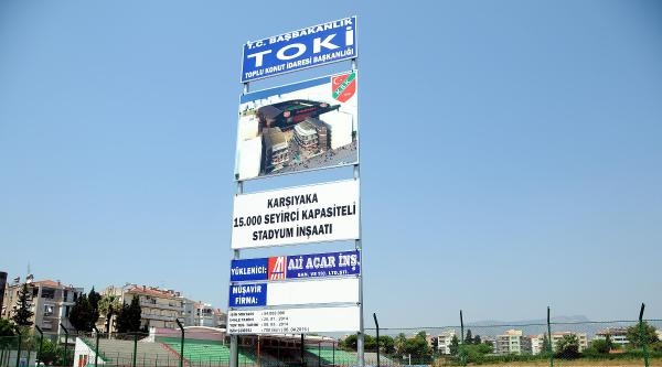İzmir Futbolu, Yeni Stat Ve Tesislerle Kurtulur