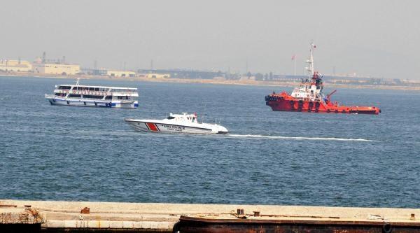 İzmir Körfezi'nde Kurtarma Tatbikatı
