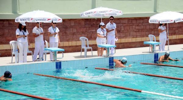İzmir'de Boğaziçi Kıtalararası Yüzme Yarışları Seçmeleri Yapıldı