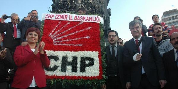 Izmir'de Chp'Den Alternatif Kutlama