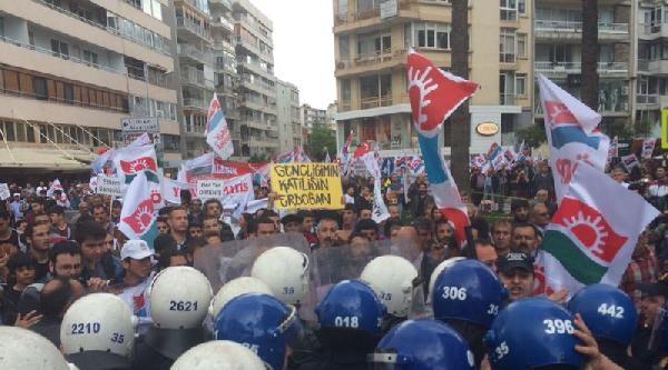 İzmir'de Coşkulu 1 Mayıs