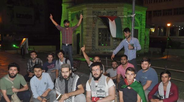 İzmir'de Gazze'ye Kara Harekatı Poretesto Edilldi