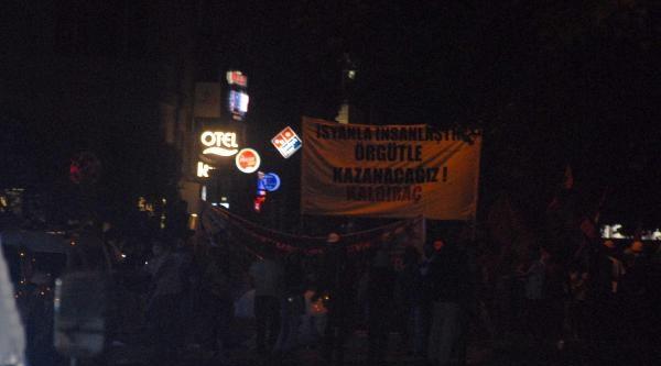 İzmir'de Gezi'nin Yıldönümü (ek Fotoğrafrlar)