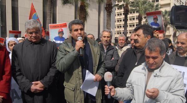 İzmir'de Hdp'lilerden Saldırılara Tepki