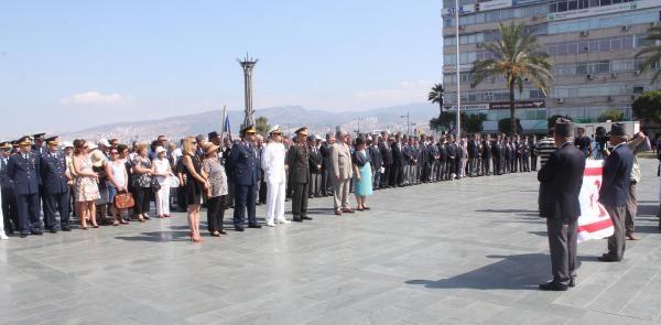 İzmir'de Kktc'nin Barış Ve Özgürlük Bayramı Kutlandı