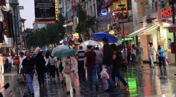 İzmir'de Sağanak Yağmur (ek Fotoğraflar)