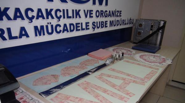 İzmir'de Sahte Para Operasyonu