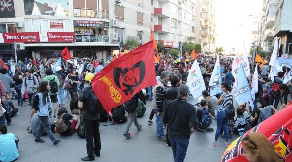 İzmir'de Soma Eylemi: 27 Gözaltı