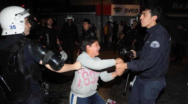 İzmir'de Soma Gösterisine Müdahale (3)