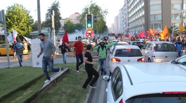 İzmir'de Soma Gösterisine Müdahale (ek Fotoğraflar)