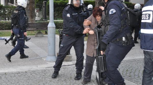 Izmir'De Uludere Protestosuna 20 Gözalti
