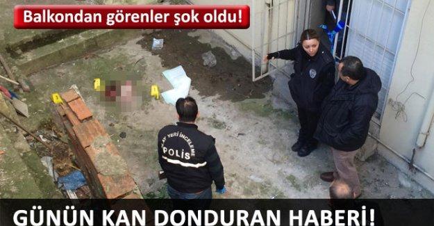 İzmir'de yeni doğmuş bebek cesedi bulundu