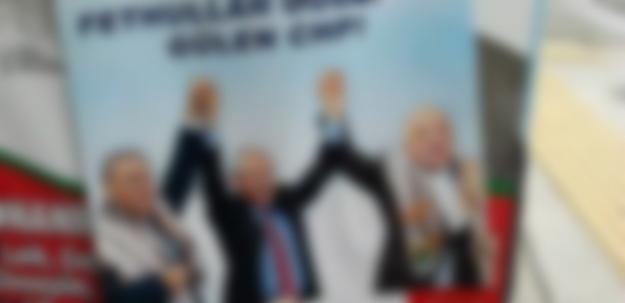 İzmir'i karıştıran Fethullah Gülen afişleri!