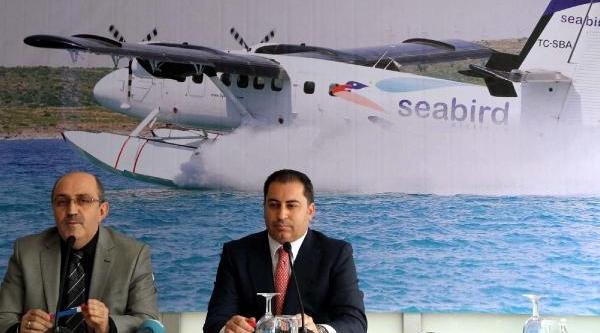 Izmit-Istanbul Deniz Uçaği Seferleri Yarin Başliyor
