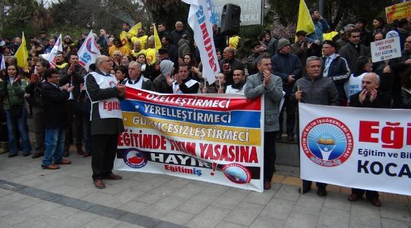 İzmit'te 3 Bin Kişilik  Protesto