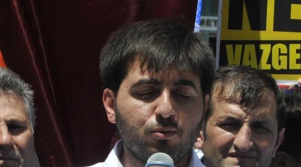 İzmit'te Agd'den İstail Protestosu