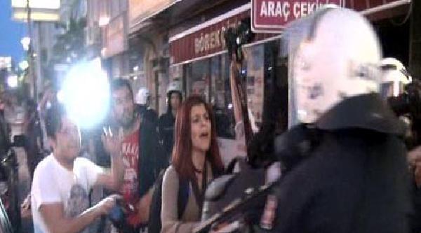 İzmit'te Soma Protestosunda Gerginlik (ek Fotoğraf)