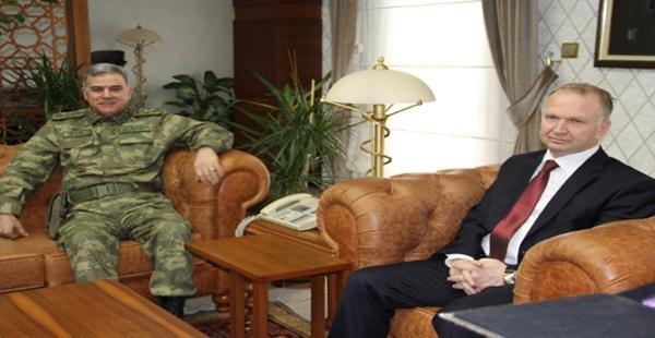 Jandarma Genel Komutanı, Nevşehir Valisini Ziyaret Etti