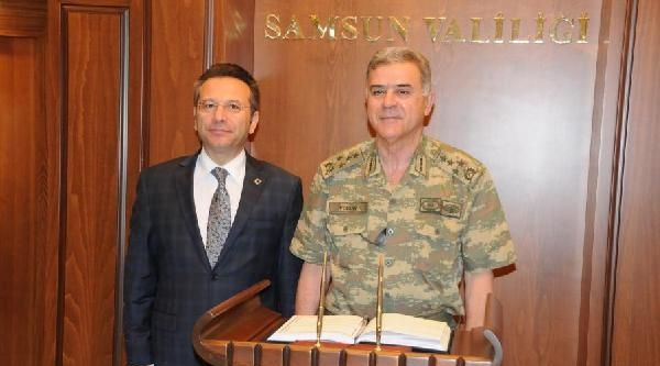 Jandarma Genel Komutanı Orgeneral Yörük, Samsun'da