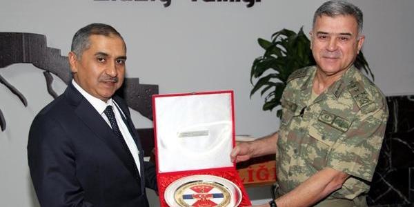 Jandarma Genel Komutani Yörük, Elaziğ'da