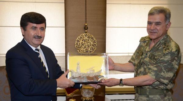 Jandarma Genel Komutanı Yörük Trabzon'da