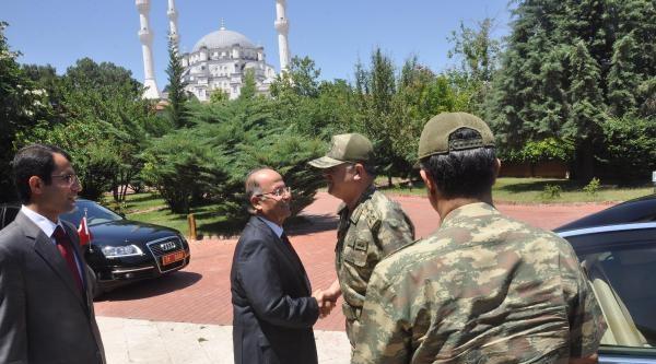 Jandarma Genel Komutanı Yörük'ten Kırıkkale Valisi'ne Ziyaret