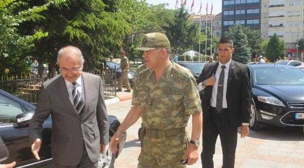 Jandarma Genel Komutanı Yörük'ten Kırklareli Valisi'ne Ziyaret