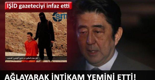 Japon Başbakan'dan ağlayarak IŞİD yemini