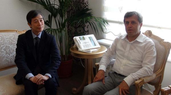 Japon Başkonsolos Fukuda'dan Çanakkale Valiliğine Ziyaret