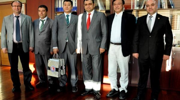 Japon Heyetten Çomü'Ye Ziyaret