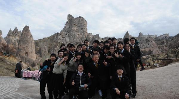 Japon Öğrenci Ve Öğretmen Grubu Kapadokya'Da