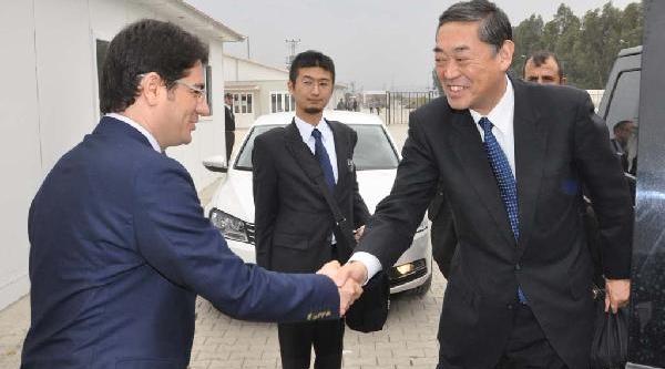 Japonya Büyükelçisi Yokoi, Osmaniye'deki Çadir Kenti Ziyaret Etti