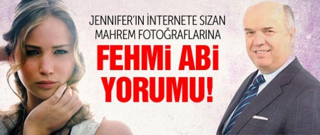 Jennifer Lawrence'ın mahrem fotolarına Fehmi Abi yorumu!