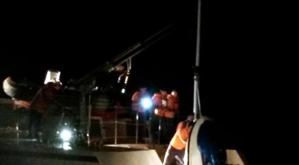 Jet Ski'li Kaçakları Sahil Güvenlik Kurtardı