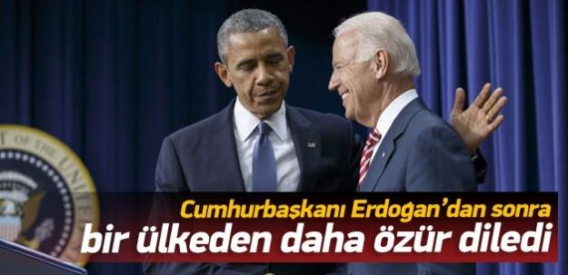 Joe Biden bir ülkeden daha özür diledi